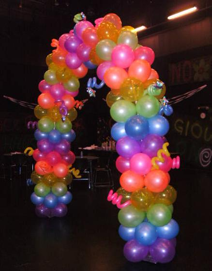 Toronto balloon decorations balloon arches and pillars for Arch balloons decoration