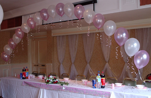 Toronto balloon decorations balloon arches and pillars for Balloon decoration idea
