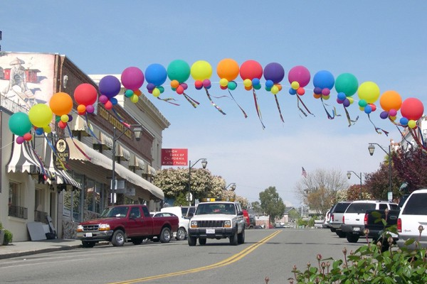 arch outdoors 36'' balloons