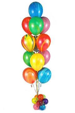 balloon tree tye dye