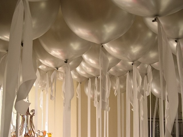 ... are a few examples of balloon ceiling decor designs for inspiration