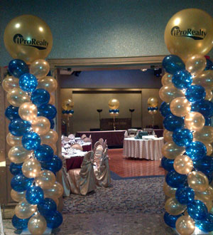 toronto balloon decorations balloon arches and pillars