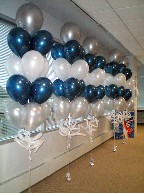 balloon arrangements for parties party favors ideas