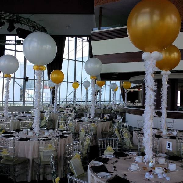 Decorations For A Halloween Party: Balloon Decorations For Wedding And Bridal Showers