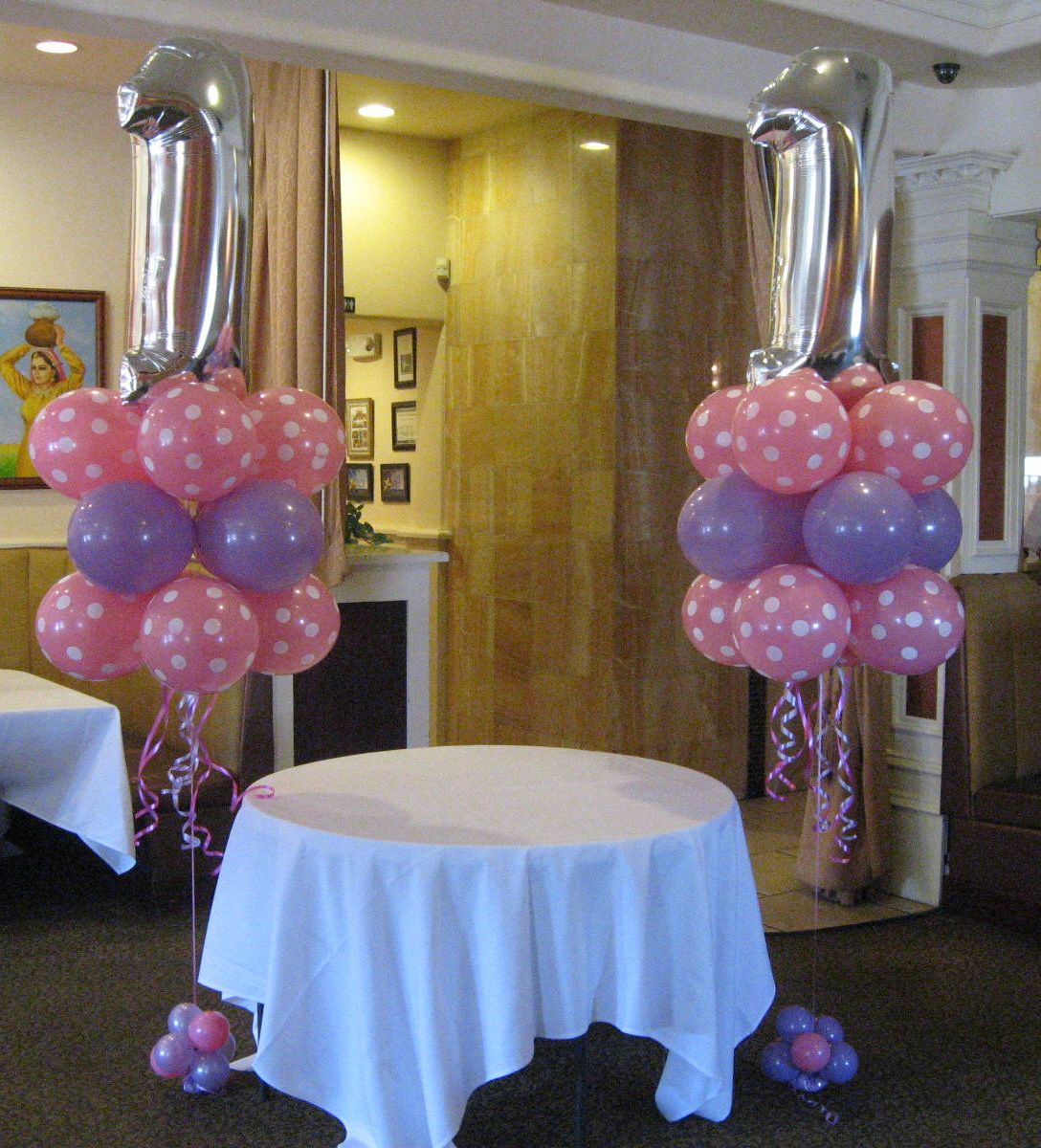Balloon bouquet and gifts delivery toronto call 416 224 for Balloon decoration for 1st birthday