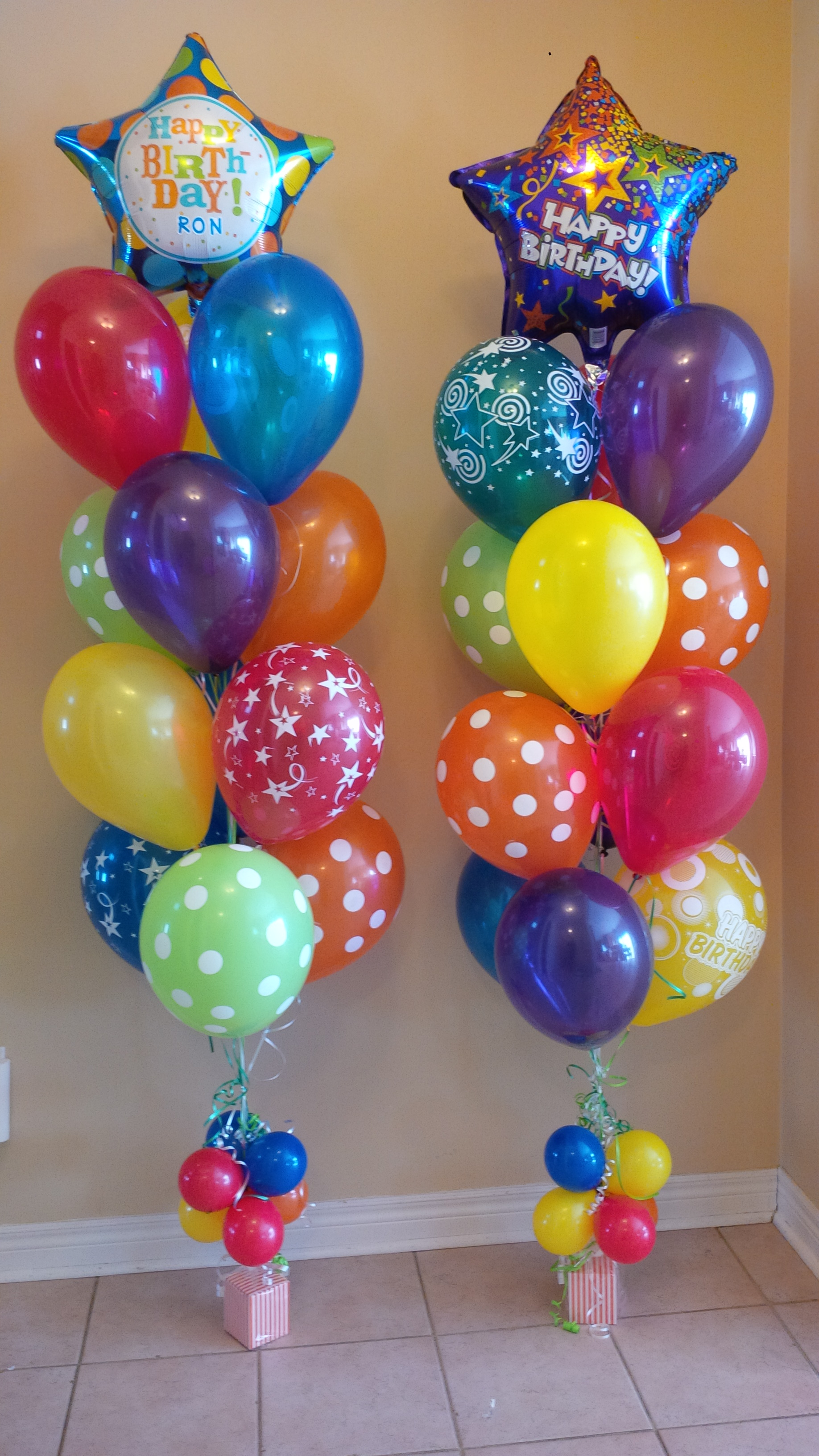 Balloon bouquet and gifts delivery toronto call 416 224 for Balloons arrangement decoration