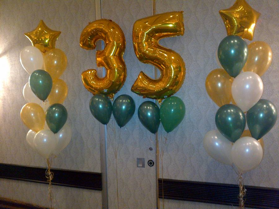 Numbers And Letters Balloon Celebrations Tops In Toronto
